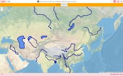 Rivers and lakes of Asia