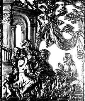 Cristo y los peregrinos de Emaús