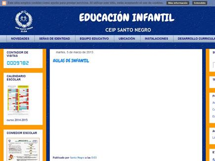 EDUCACIÓN INFANTIL - CEIP SANTO NEGRO