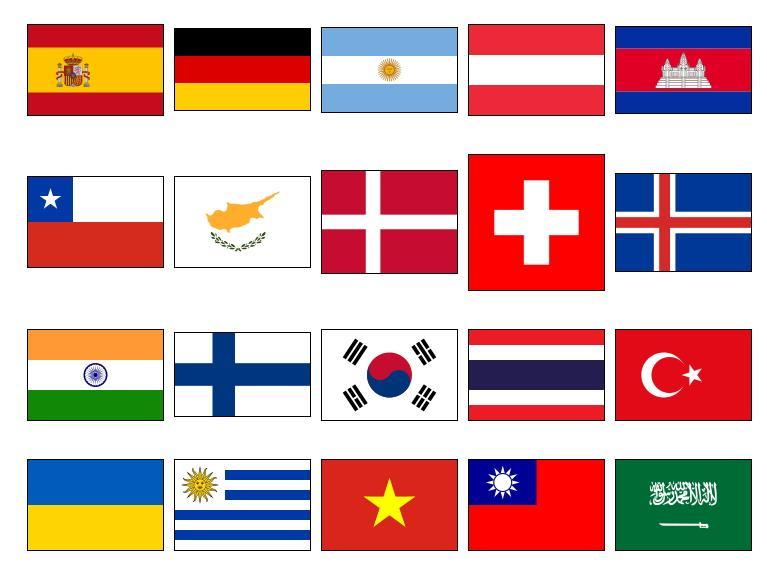 Banderas de Países 2 (JetPunk)