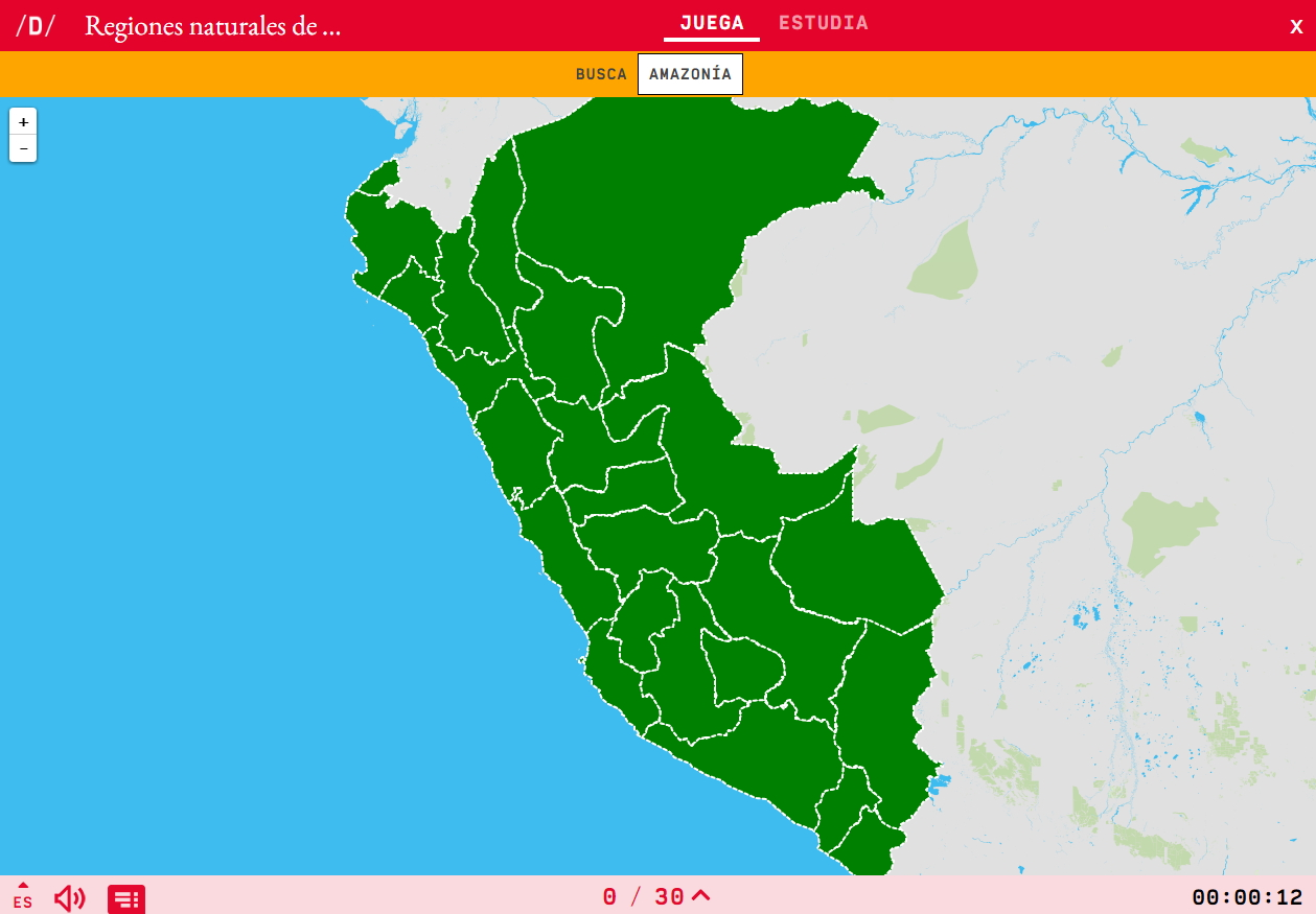 Regiões naturais do Peru
