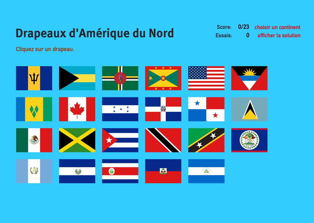Carte Amerique Interactive.Carte Interactive D Amerique Du Nord Drapeaux D Amerique Du