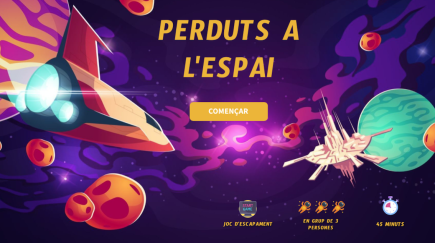 Perduts a l'espai: una experiència gamificada de joc d'escapament digital musical.