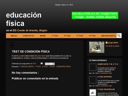 Educación Física en el IES Conde de Aranda