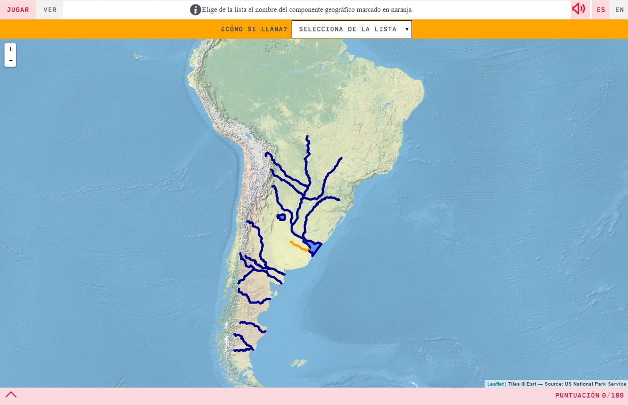 Rivers of Argentina
