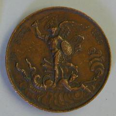 Medalla conmemorativa del nacimiento de duque de Burdeos