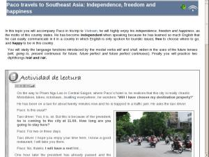 Paco travels to Southeast Asia: Independence, freedom and happiness