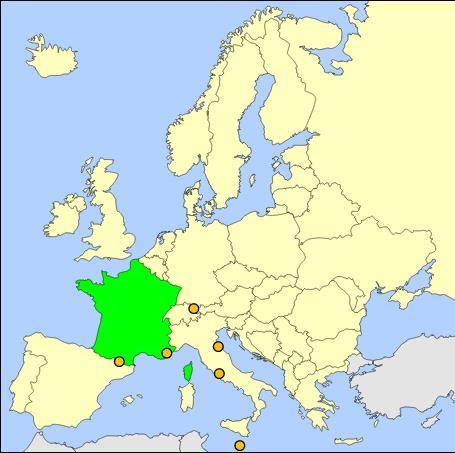 Países de Europa  (JetPunk)