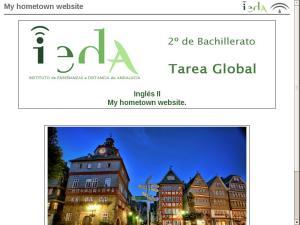 My hometown website