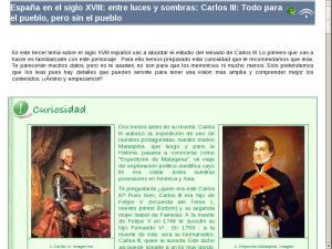 España en el siglo XVIII: entre luces y sombras: Carlos III: Todo para el pueblo, pero sin el pueblo