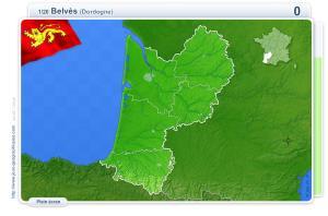 Villes d'Aquitaine. Jeux géographiques