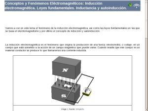 Conceptos y Fenómenos Eléctromagnéticos: Inducción electromagnética. Leyes fundamentales. Inductancia y autoinducción.