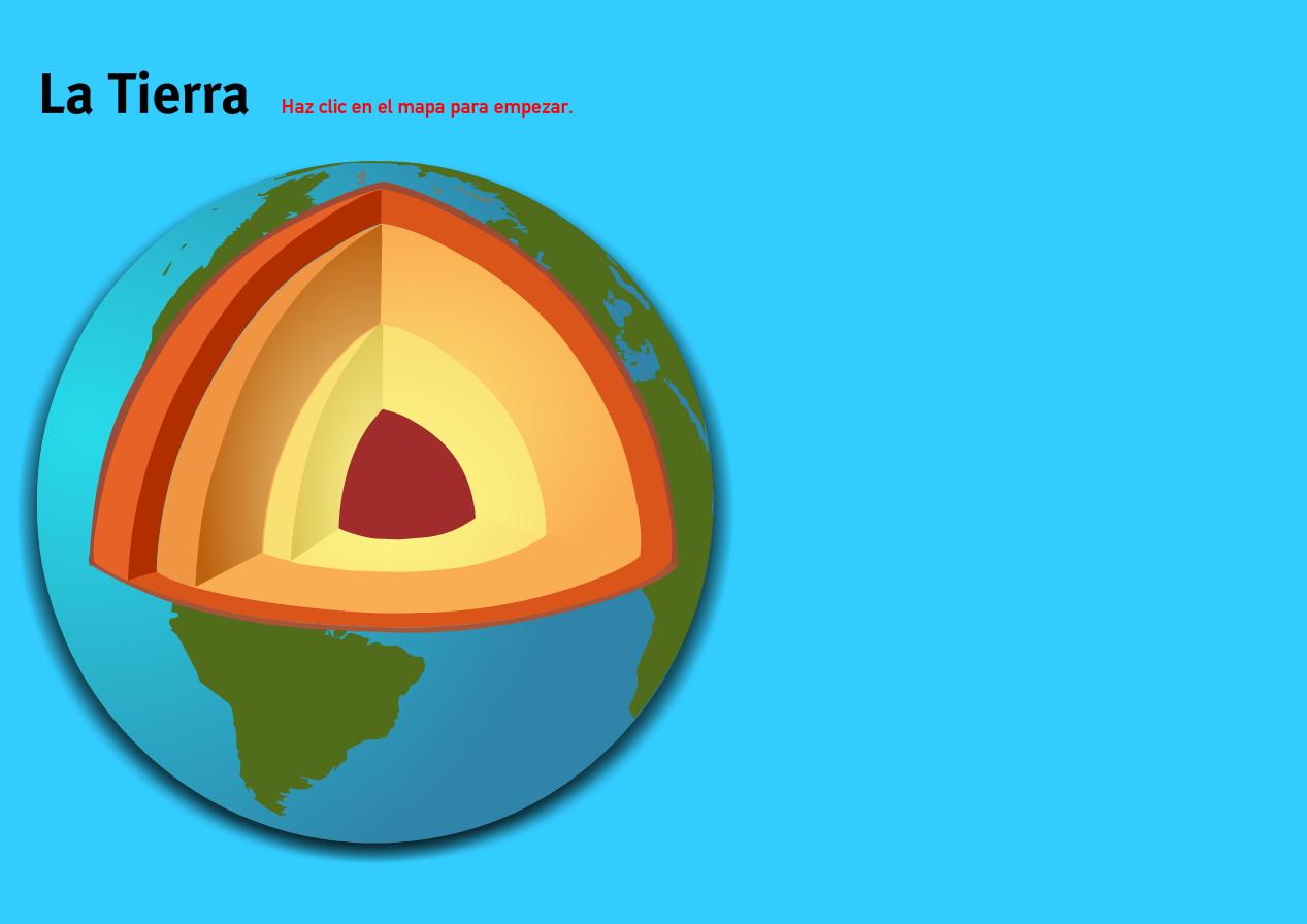 La Tierra. Juegos de Geografía