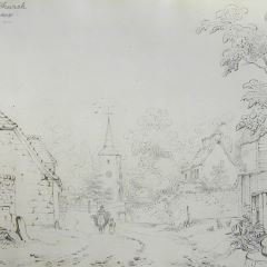 Iglesia de Stanmer en Sussex (Inglaterra)