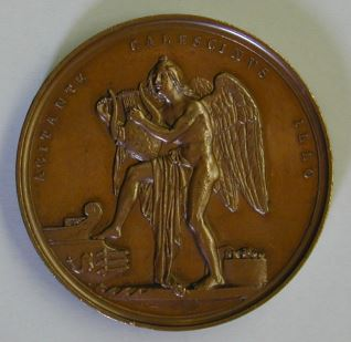Medalla conmemorativa de la muerte de Lord Byron