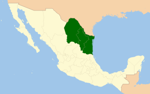 Region Noreste de Mexico