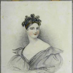 Retrato de María Malibrán