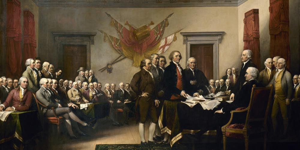 Révolution des treize colonies et indépendance des États-Unis (facile)