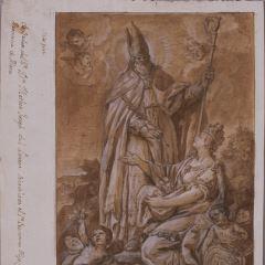 Alegoría de San Prudencio y Álava