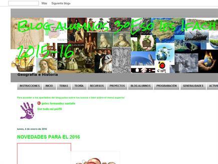 Blog alumnos 3ºEso Ies Ifach 2015-16