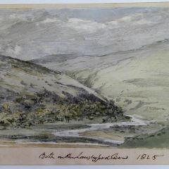 Paisaje en las cercanías de Langleeford, Northumberland (Inglaterra)