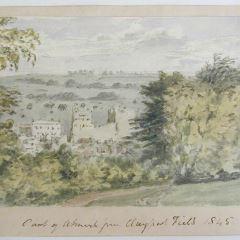 Castillo de Anlwick, Northumberland (Inglaterra)