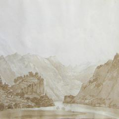 Paisaje alpino (Suiza)