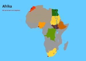 Afrika. Topo VMBO