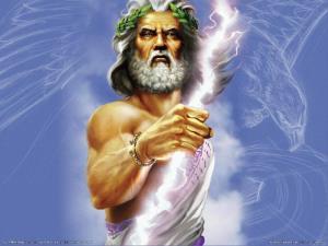 Nacimiento, descendencia y metamorfosis de Zeus