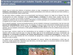 Un territorio organizado por ciudades: España, un país con una gran tradición urbana