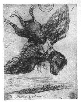 El perro volante
