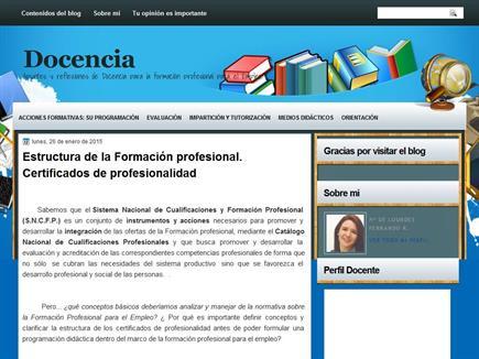 DOCENCIA. Apuntes y reflexiones de Docencia para la Formación Profesional para el Empleo.