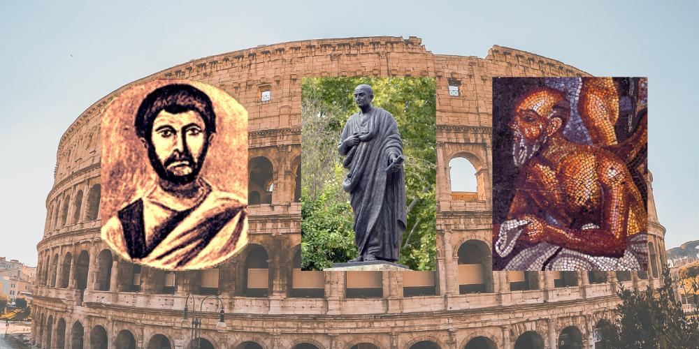 ¿Conoces a los autores de la literatura de la Antigua Roma?