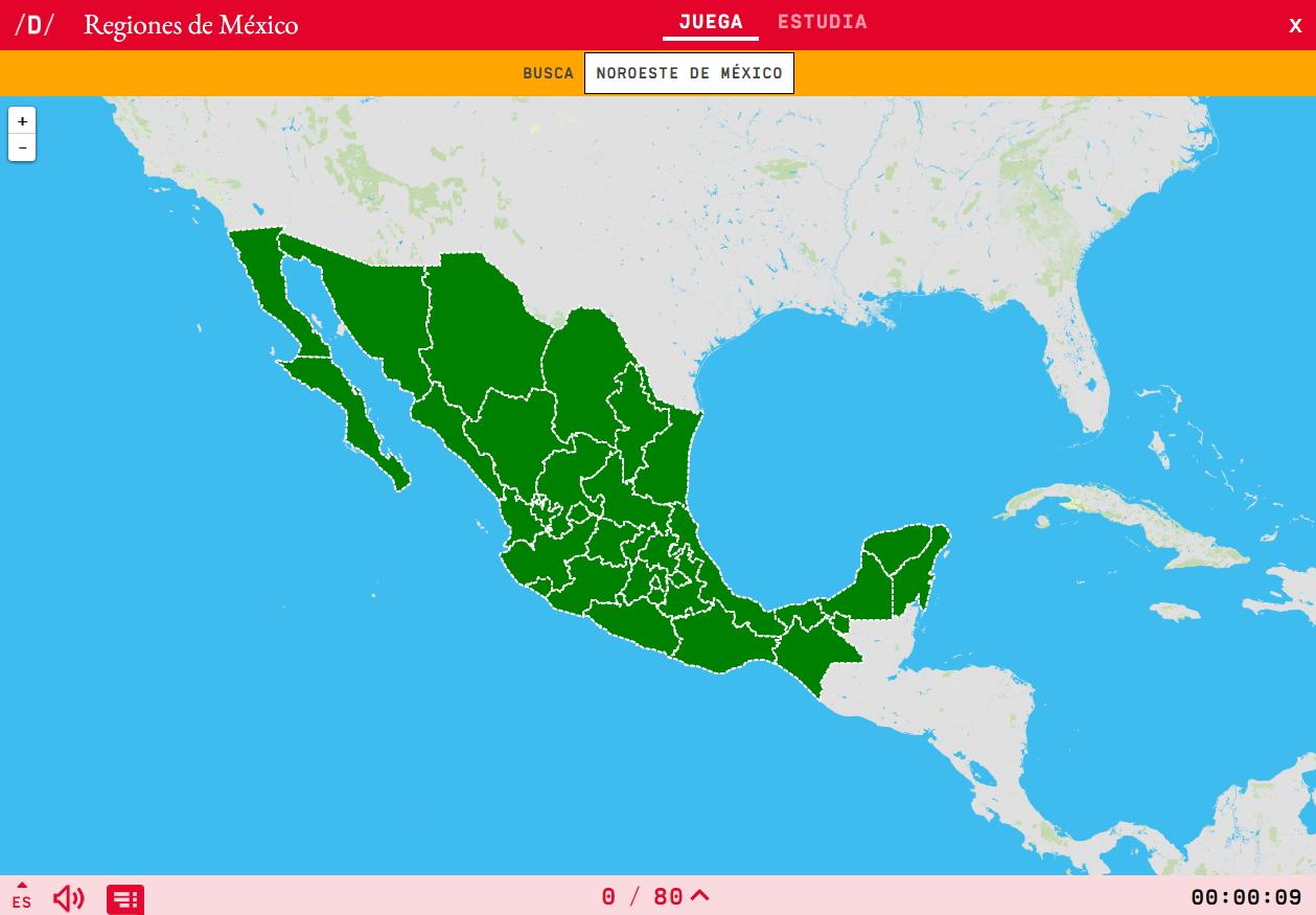 Regioni de Messico