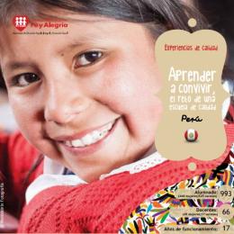 Aprender a convivir, el reto de una escuela de calidad (Perú)
