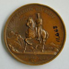 Medalla conmemorativa de la victoria de Alfonso XII sobre el ejército carlistas