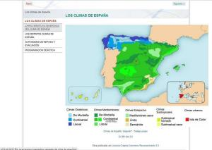 Los climas de Espaa