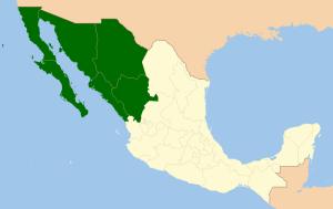 Noroeste de Mexico