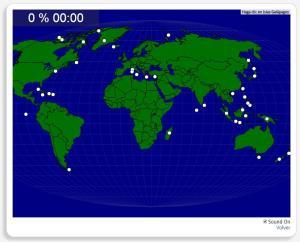 Welt: Inseln. Seterra