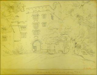 Haddon Hall, cerca Bakewell (Inglaterra)