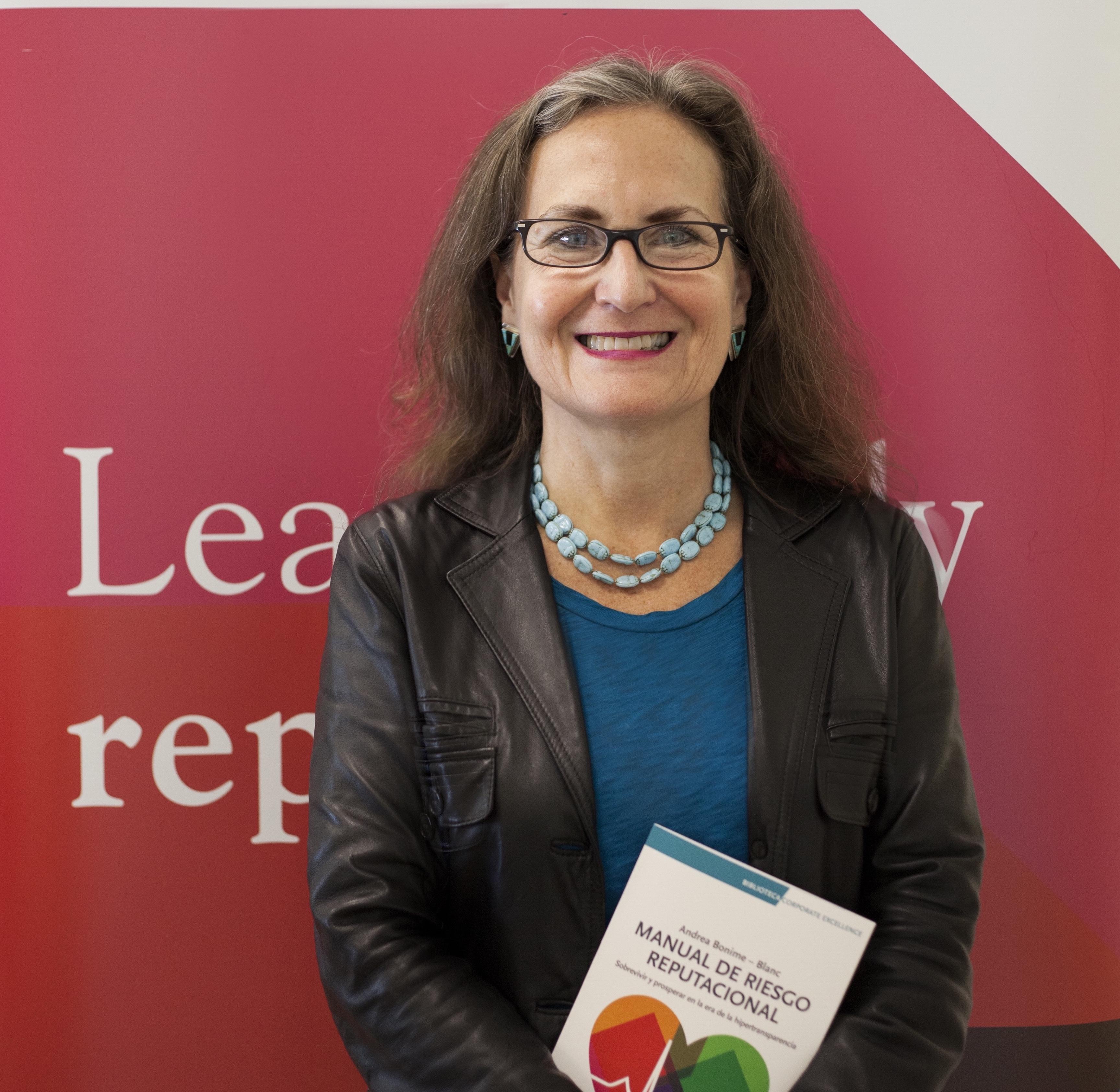 Andrea Bonime-Blanc, se incorpora al Consejo Asesor de Corporate Excellence