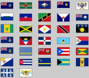 Flags of the Caribbean. Lizard Point