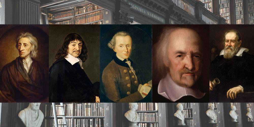 Philosophen des 17. und 18. Jahrhunderts