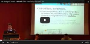 Dr. Rodriguez Piñeiro - SERMEF 2015 - Mesa amputado vascular.