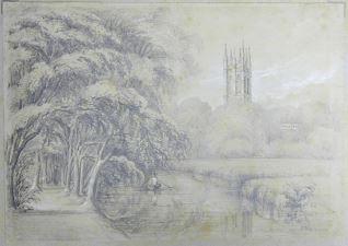 Torre del Magdalen College, Oxford (Inglaterra)