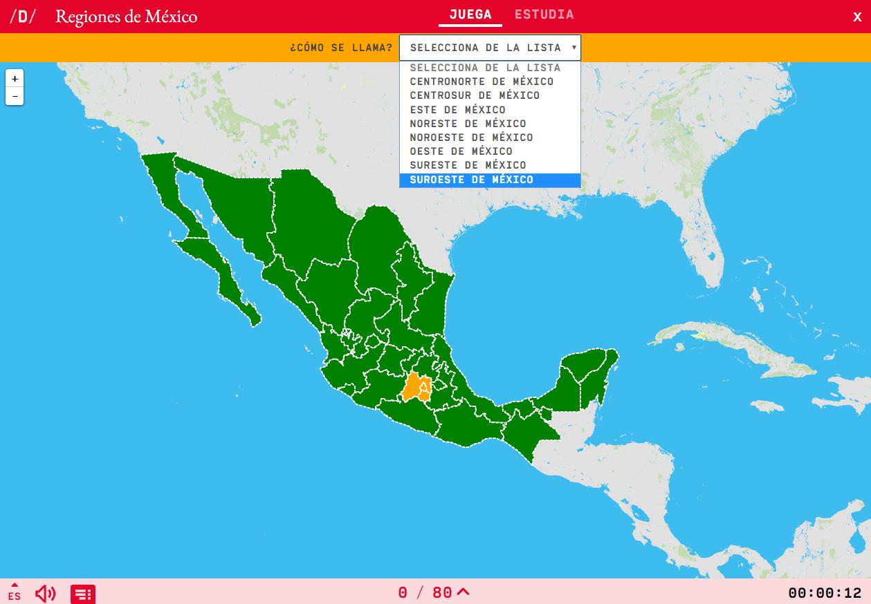 Regions of Mexico