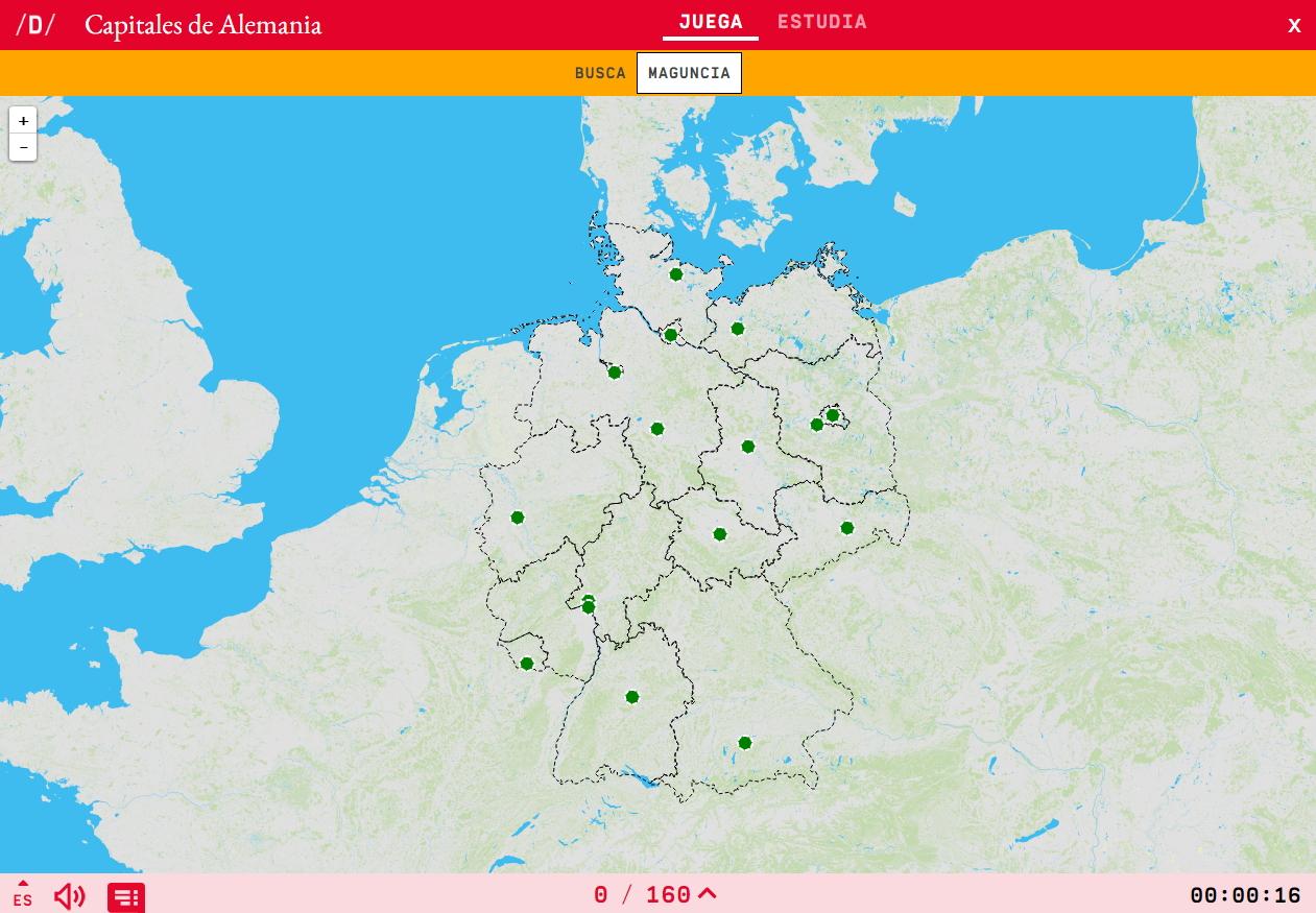 Capitales de Alemania