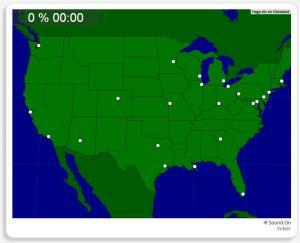 Etats-Unis : les plus grandes villes. Seterra