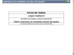 Analizamos las variedades sociales del español