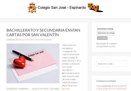 Blog Colegio San José